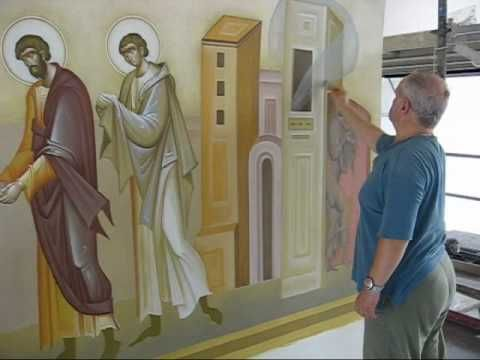 The Building of A Modern Byzantine Church -The Icons
