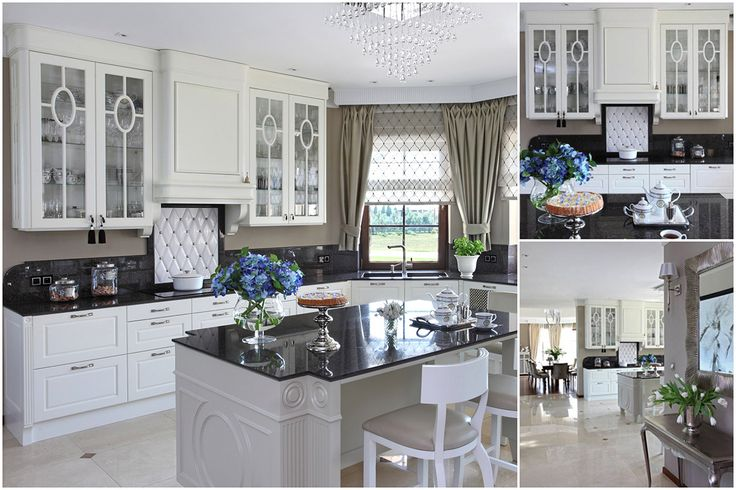 Dominika J. Rostocka - Architekt | Residence in Poland, white kitchen