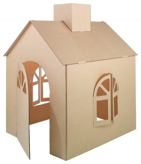17 best ideas about cardboard playhouse on pinterest. Black Bedroom Furniture Sets. Home Design Ideas