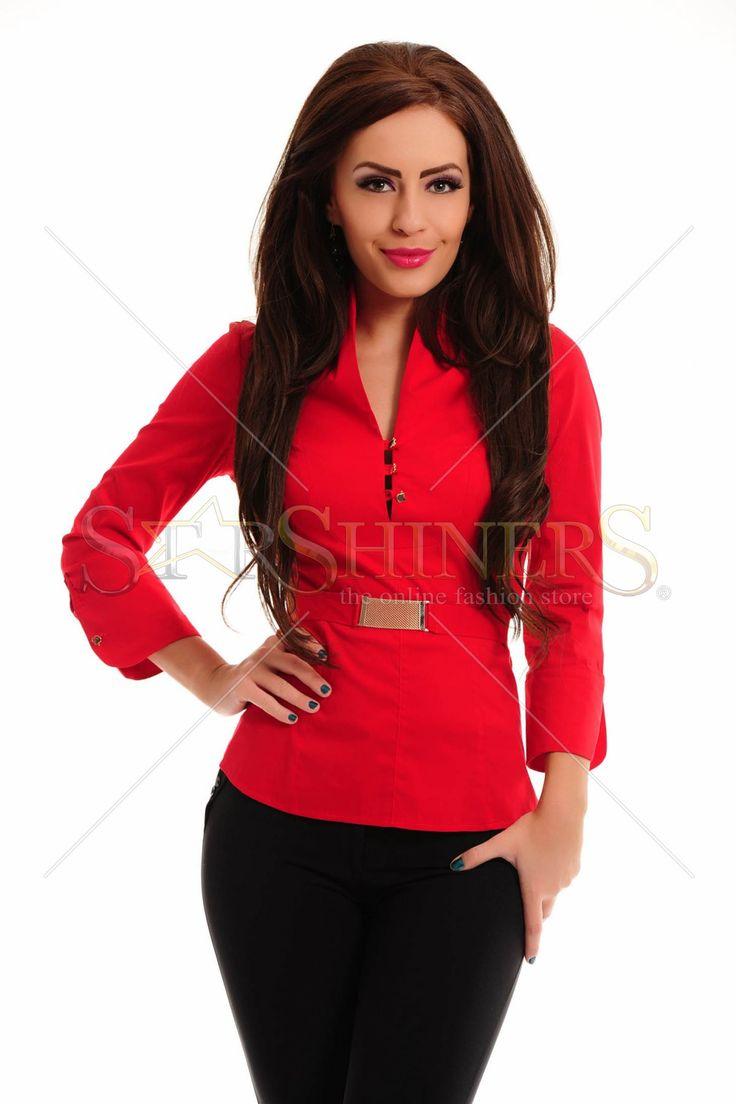 PrettyGirl Divine Red Shirt