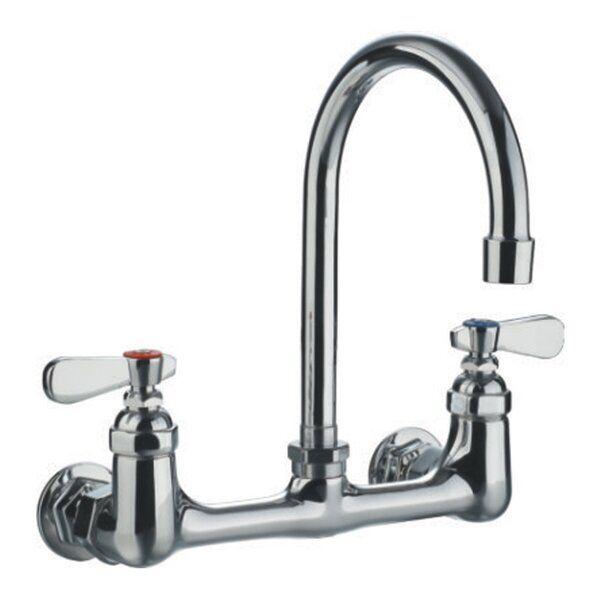Double Handle Wall Mount Utility Faucet Utility Faucets Faucet
