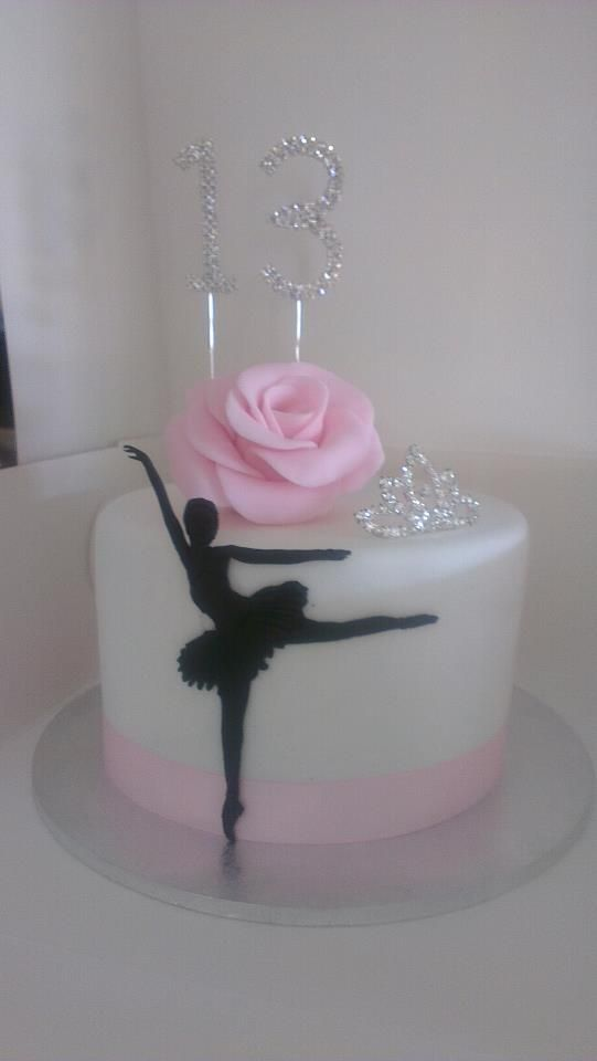 17 Best Images About Ballerina Cakes On Pinterest