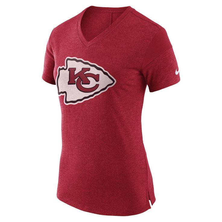 Nike Fan V (NFL Chiefs) Women's T-Shirt Size