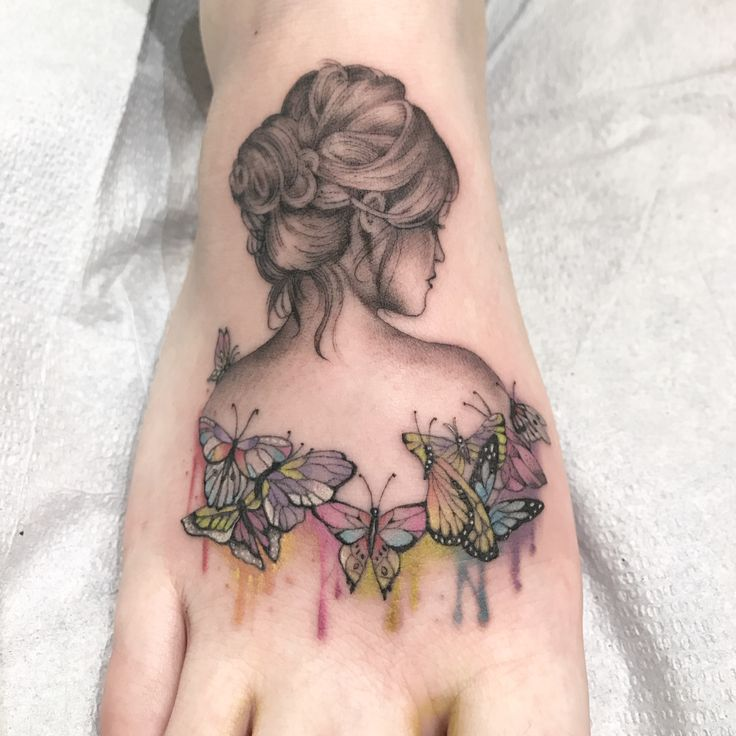 Single needle tattoo by:Mike Jupp