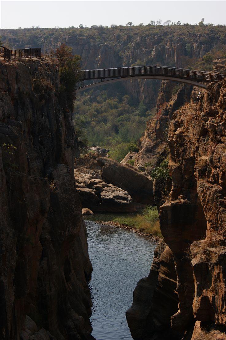 Südafrika Brücke