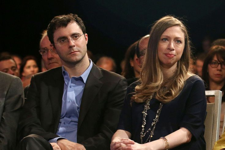 Hedge-fund manager Marc Mezvinsky with his wife, Chelsea Clinton, at a Clinton Global Initiative event...