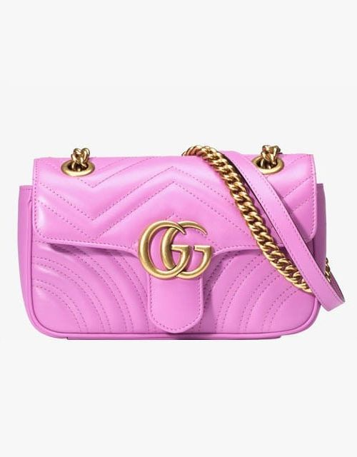 """""""I want to wear this pink cross-body with sweaters!"""""""
