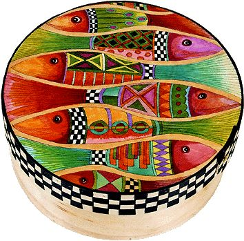 Helen Heins Peterson, Modern Folk Art, Whimsical Primitives, Hand Painted Furniture & Woodworks