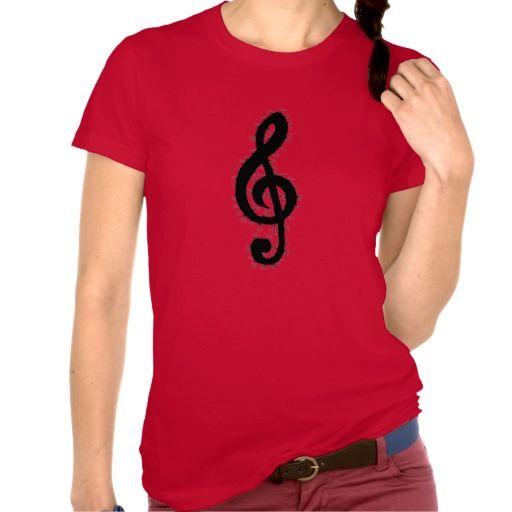 Electric Treble Clef Tshirt