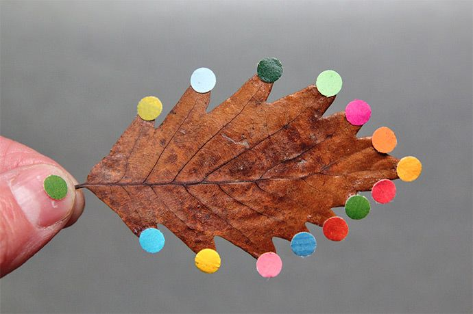 DIY Leaf art / Autumn inspiration