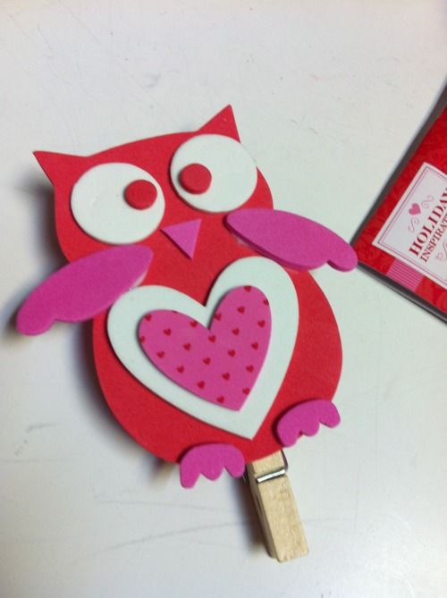 valentine owl, so cute