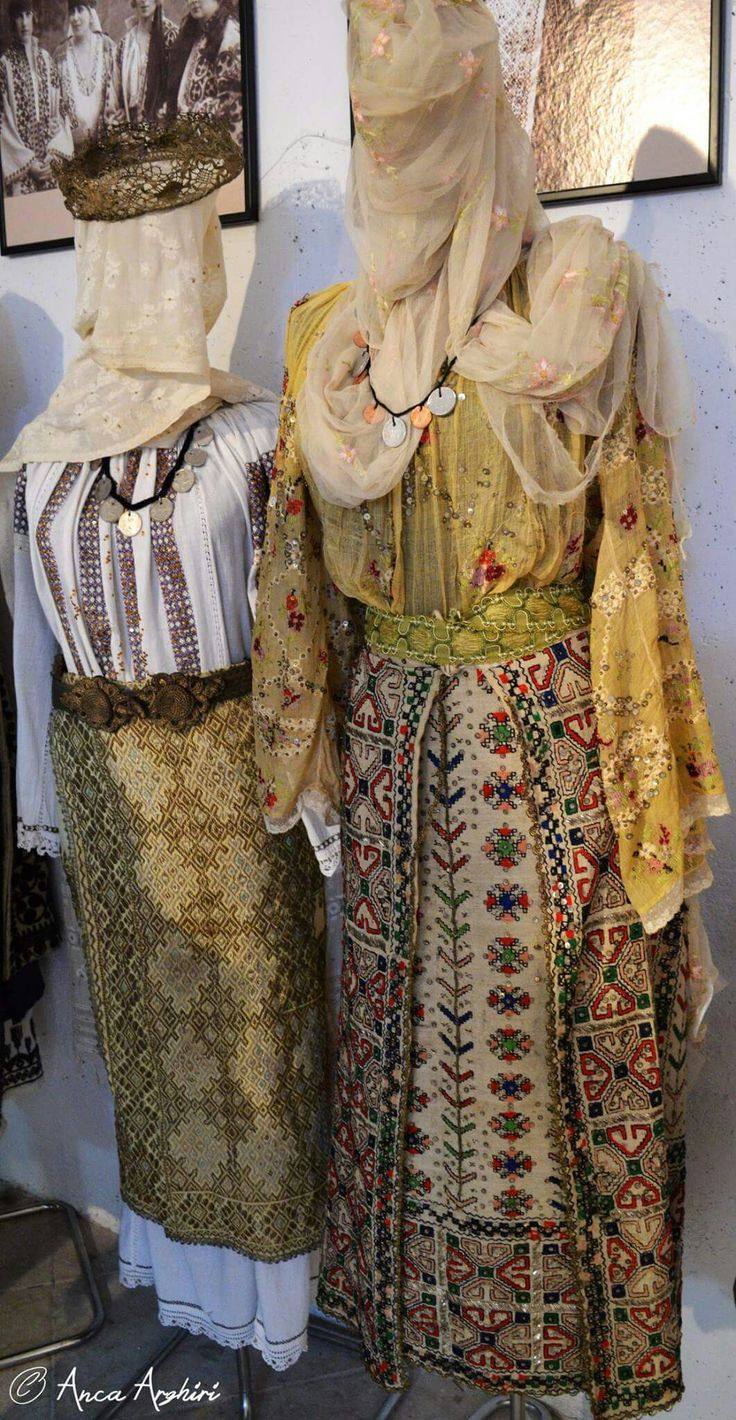 Romanian blouses & traditional clothing