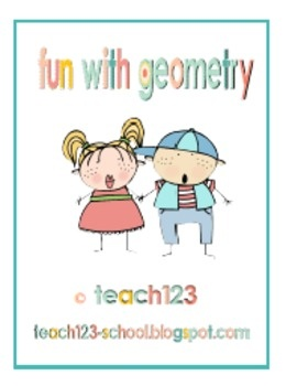 $3 - Fun with Geometry:  This packet includes:  *Shape signs (nine 3D and eight 2D shapes)  *Edible math graph and data collection sheet  *I HAVE, WHO HAS game (20 cards): Data Collection Sheet, 20 Cards