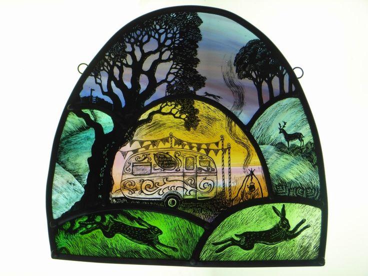 Stained Glass Portfolio - Tamsin Abbott ~ Museum of British Folklore