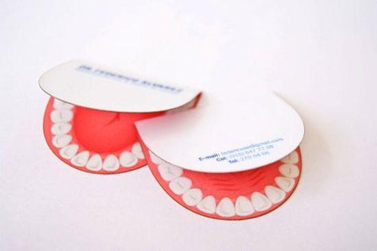 10 melhores imagens de dentist no pinterest dentistas cartes de 200 creative business cards part 3 50 original concepts reheart Choice Image