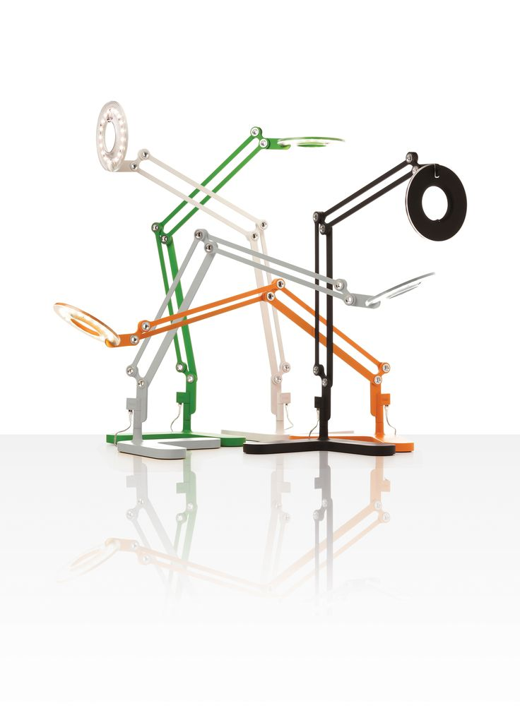Amazing Link Lamp, Designed By Peter Stathis
