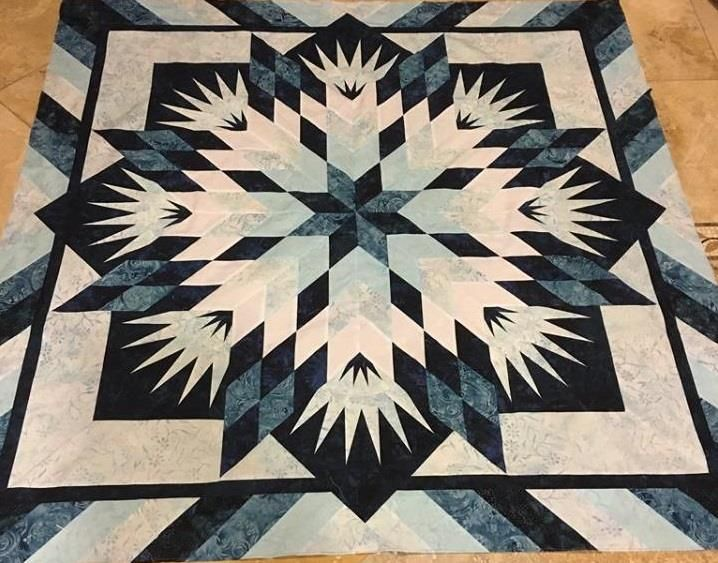 Summer Solstice ,Quiltworx.com, Made by CI Janet Spinks