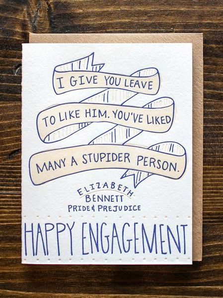 Best engagement card ever.
