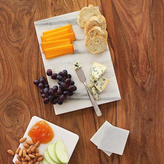 handmade, marble Cheese board