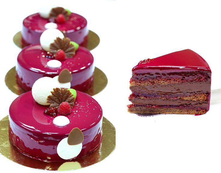 Торт «Framboisier» от Мишеля Вийом   Самый вкусный портал Рунета