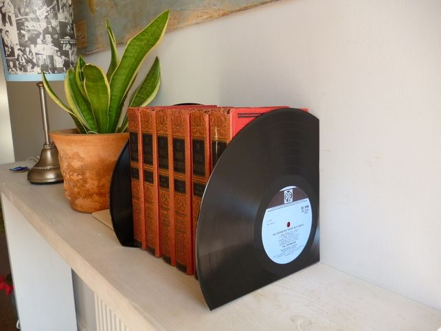 How to Upcycle Old Vinyl Records