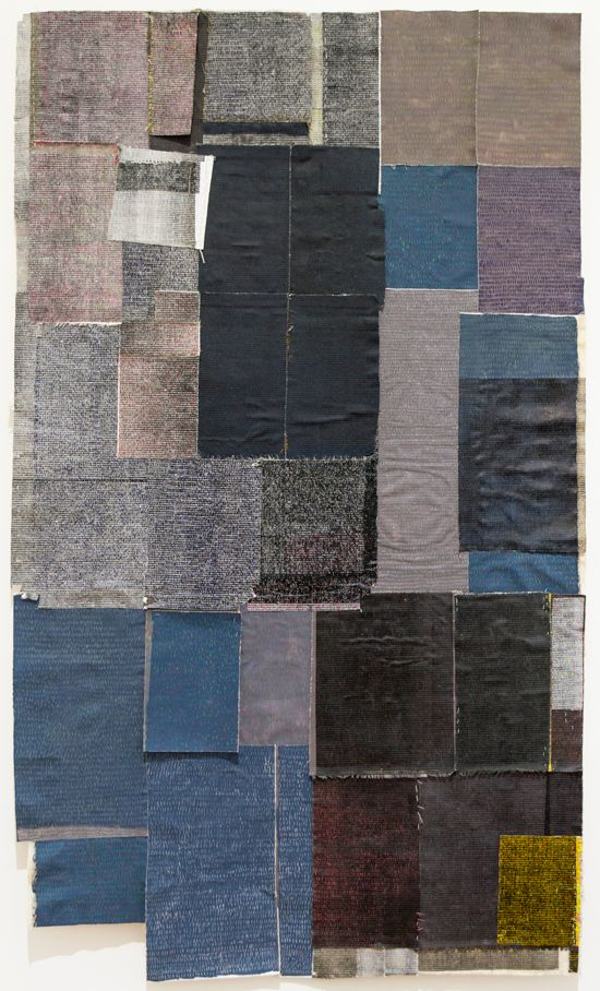 Bonolo Kavula, 'Black Magic' (2015), Permanent markers and linocut on canvas, 210 x 113cm