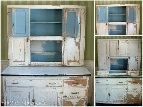 102 best Hoosier Cabinets images on Pinterest | Hoosier cabinet ...