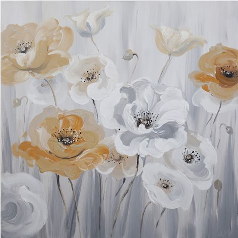"""Schilderij """"Mooie klaprozen"""" te koop @Betaalbarekunst.nl"""