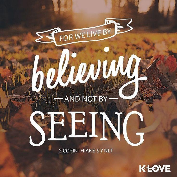 #VOTD #scripture #believing by kloveradio