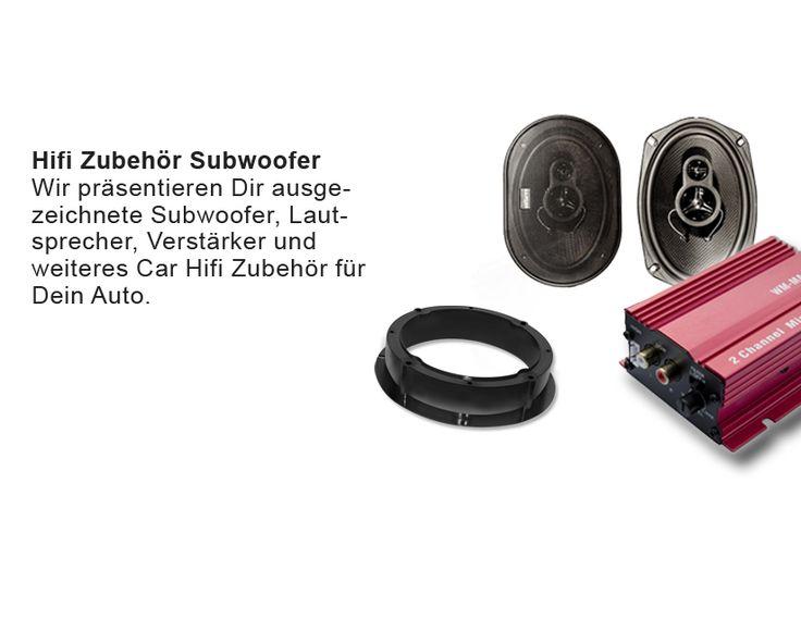 Hifi Zubehör Subwoofer Wir präsentieren Dir ausgezeichnete Subwoofer, Lautsprecher, Verstärker und weiteres Car Hifi Zubehör für Dein Auto.