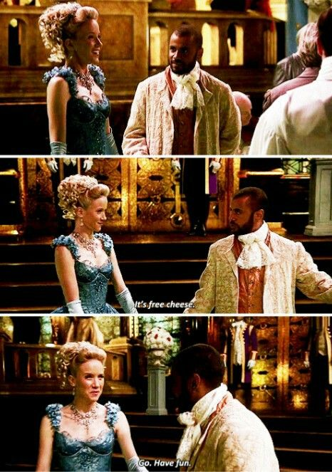 """It's free cheese. Go, have fun"" - Cinderella and Gus Gus #OnceUponATime"