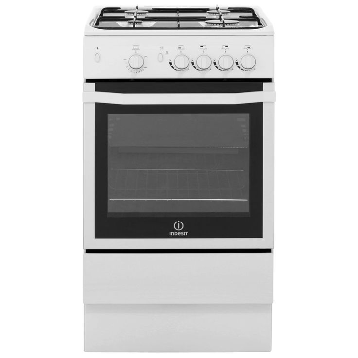 I5GGW_WH | Indesit Gas Cooker | White | ao.com