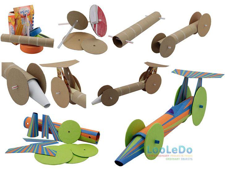 Faça Você Mesmo um incrível brinquedo com material reciclado, ideal para atividades com crianças e projetos escolares! Faça um Carro Hot Wheels!
