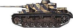 WW2 Tank Camouflage Patterns | Panzer III Camouflage Patterns