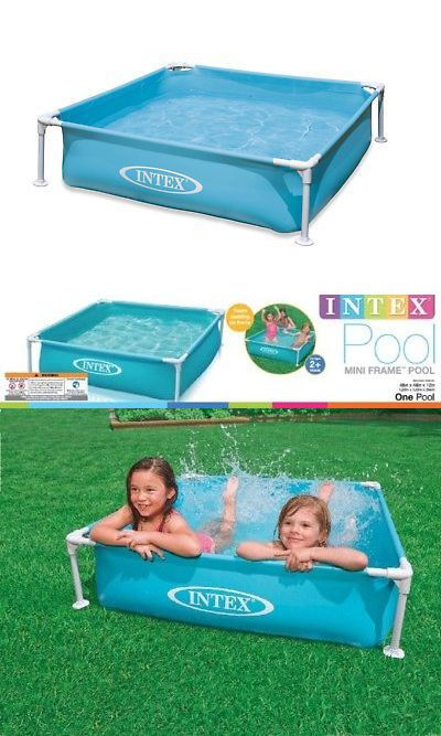 Inflatable And Kid Pools 116407: Intex Mini Frame Pool Blue 57173Dep  U003e BUY  IT NOW ONLY: $41.95 On #eBay #inflatable #pools #intex #frame