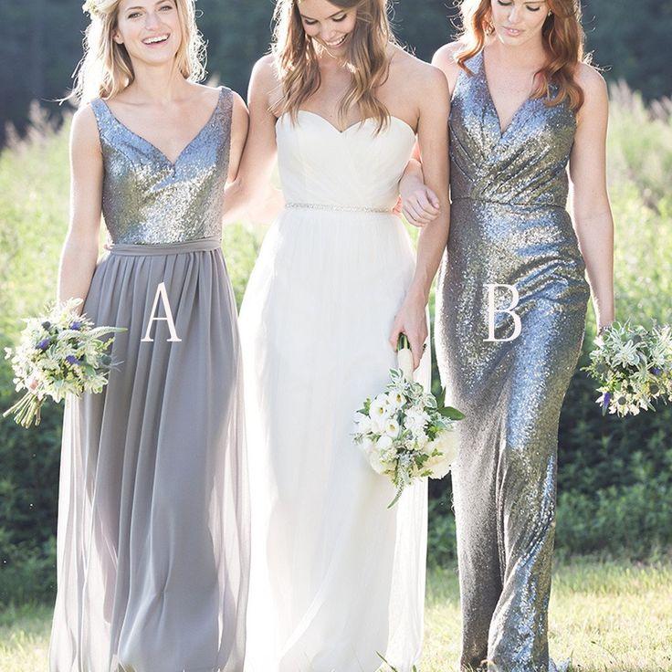 92 besten Chic Bridesmaid Dresses Bilder auf Pinterest   Casamento ...