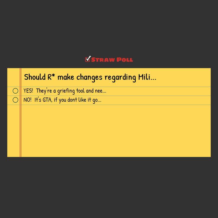 POLL: Should R make changes regarding Military Jets in GTA online? #GrandTheftAutoV #GTAV #GTA5 #GrandTheftAuto #GTA #GTAOnline #GrandTheftAuto5 #PS4 #games