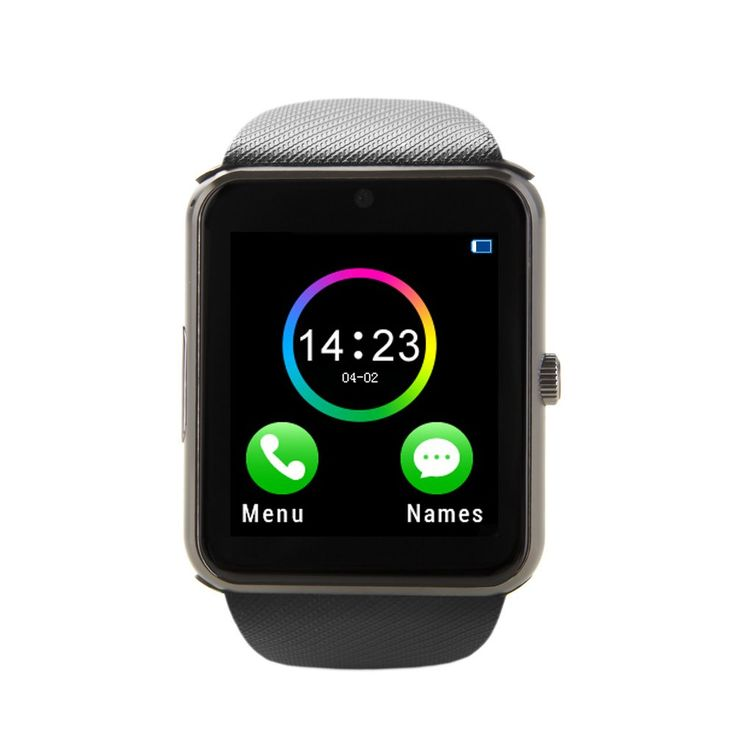 ZAOYIMALL Smartwatch GT08 Bluetooth Smart Watch with Camera SIM TF Card Call Sync Notification for Iphone and Android Smartphones (Black-SD). Compatibility Note:Compatible with Android System(full function support)and IOS System (limited function support,it can work with iPhone as a Bluetooth device,but Messaging,Remote Camera,Anti-lost are currently unavailable on iOS). Main Functions: Be an independently Smart Cell Phone when you put SIM card and TF card in this watch. This watch Also…