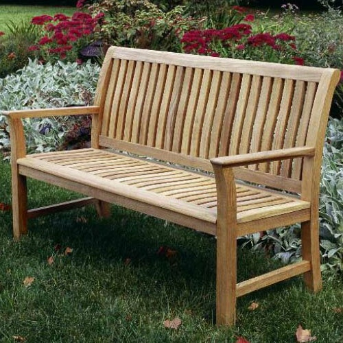 Chelsea Outdoor Bench By Kingsley Bate