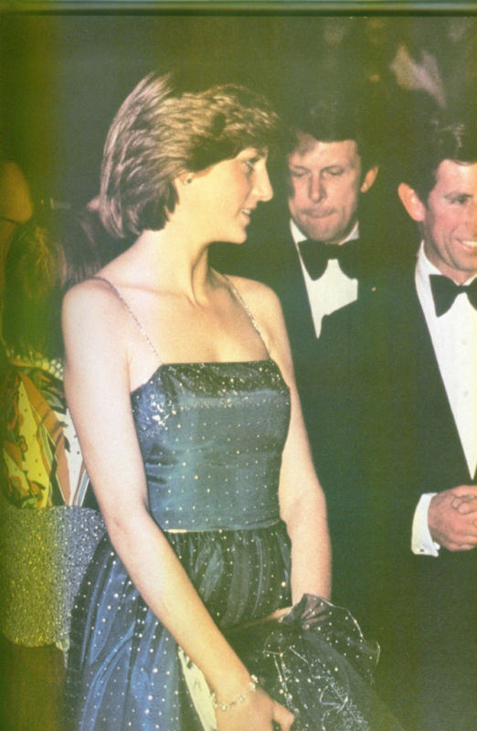 June 19, 1981: Prince Charles with his fiancé, Lady Diana Spencer attending the Royal Academy.