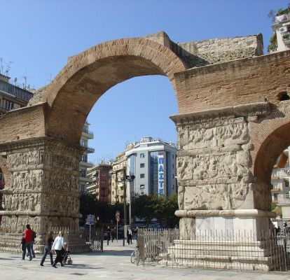 THESSALONIKI - GARERIU's ARCH by arpatsi, via Flickr