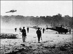 Troopies go into Zambia