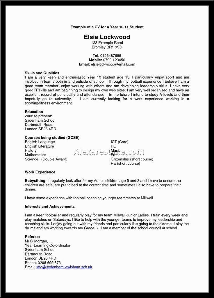 25+ melhores ideias de Good resume objectives no Pinterest Pós - interests to put on resume