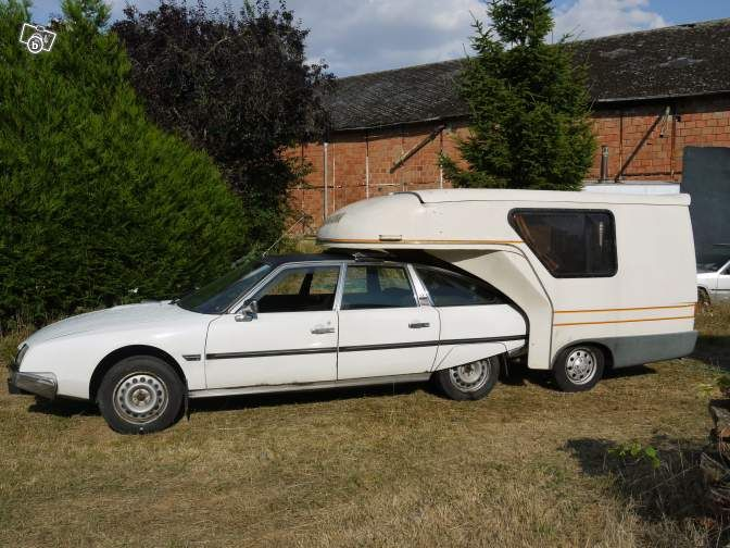 "Shoot... i don't have a ""wheels"" board.. but i'd love the front part for a daily ride and the last part for touring the French coast! :: Citroen CX caravan"