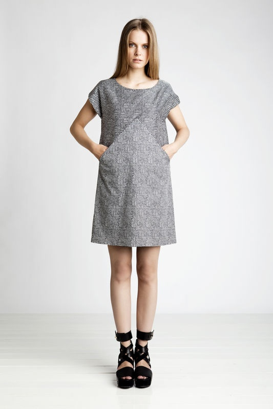 Marimekko - like the dress pattern very much...has a lot of possibilities with colour blocking, also crochet and knitting