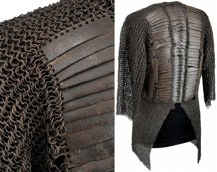 Indi-Persian mail and plate shirt. Mail shirts reinforced with steel or iron plates appear to have been developed first in Iran or Anatolia in the late 14th or early 15th c. Variations of mail-and-plate armor were worn throughout the Middle East by the Persians, Ottomans, and Mamluks. The style probably was introduced into India early in the Mughal period due to Ottoman influence on Mughal military practices.