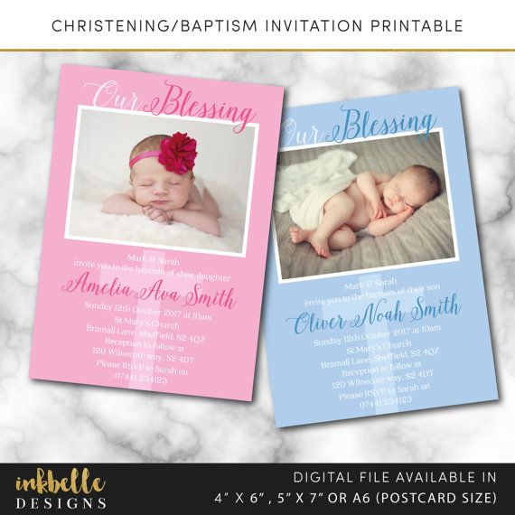 best ideas about christening thank you cards on, 4 x 6 invitation cards