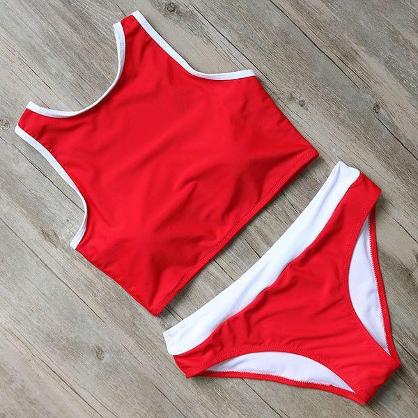 Bonnie Bikini Set Blush