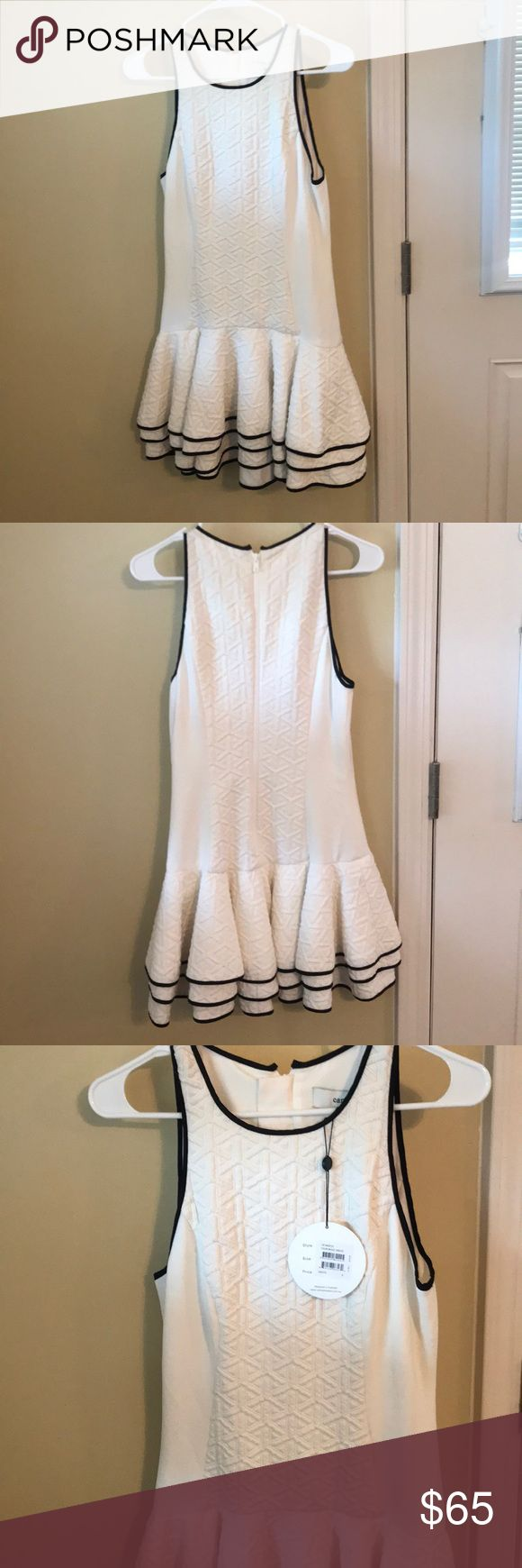 White Cameo Dress White Cameo Dress. Never worn with tags still on. The fit is super cute and slimming! Cameo the Label is a brand designed in Australia and can find on Nordstrom, Bloomingdales etc. cameo the label Dresses Mini