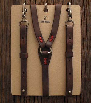 Woodsman Suspenders | Huckberry | Raddest Men's Fashion Looks On The Internet: http://www.raddestlooks.org